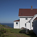 Lighthouse Monhegan Color by Jean Macaluso