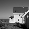 Lighthouse Monhegan by Jean Macaluso