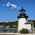 Lighthouse Mystic Seaport by Tom Gari Gallery-Three-Photography