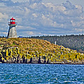 Lighthouse On Brier Island In Digby Neck-ns by Ruth Hager
