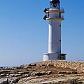 Lighthouse On Cap De Barbaria On Formentera by Karol Kozlowski