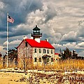 Lighthouse On The Delaware by Nick Zelinsky