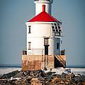 Lighthouse On The Rocks by Mark David Zahn Photography