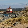 Lighthouse Over The Dunes by Lindley Johnson