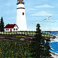 Lighthouse Point by Barbara Griffin