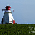Lighthouse Prince Edward Island by Edward Fielding