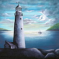 Lighthouse by Ruth Bares
