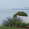 Lighthouse Sodus Bay New York by Jennifer Craft