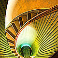 Lighthouse Stairway - Point Loma San Diego by Jon Berghoff