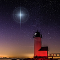 Lighthouse Star To Wish On by Jeff Folger
