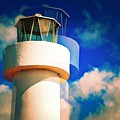 Lighthouse To The Clouds by David Coleman