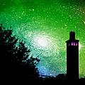 Lighthouse Under The Stars Xii by Aurelio Zucco