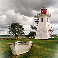 Lighthouse Victoria By The Sea Pei by Edward Fielding