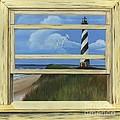 Lighthouse Window by Rosellen Westerhoff