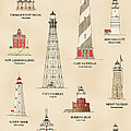 Lighthouses Of The East Coast by Jerry McElroy