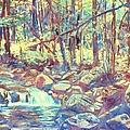 Lighting The Creek by Kendall Kessler