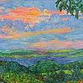 Lighting The Ridge by Kendall Kessler