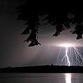 Lightning At Night by Barbara West
