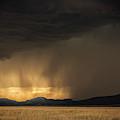 Lightning Bolt Striking Thr Ground by Tim Martin