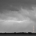 Lightning Bolting Across The Sky Bwsc by James BO  Insogna