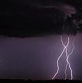 Lightning Composite by Rachel Sanderoff