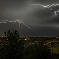 Lightning Crashes by Gary Mosman