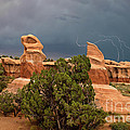 Lightning Devils Garden Escalante Grand Staircase Nm Utah by Dave Welling
