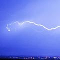 Lightning Over North Boulder Colorado  Ibm by James BO  Insogna