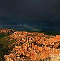 Lightning Rainbow Hoodoos Bryce Canyon Utah by Dave Welling