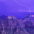 Lightning Storm North Rim Grand Canyon National Park Arizona by Dave Welling