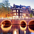 Lights Of Amsterdam by Artur Bogacki