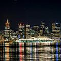 Lights Of Vancouver by Sabine Edrissi