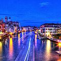 Lights On The Canal by Craig Brown