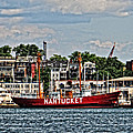 Lightship Nantucket by Mike Martin