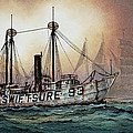 Lightship Swiftsure by James Williamson