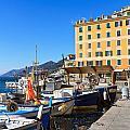 Liguria - Harbor In Camogli by Antonio Scarpi