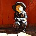 Lil Cowboy Afternoon by Esther Wilhelm Pridgen