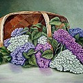 Lilac Basket by Fran Brooks