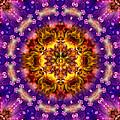 Sacred G Mandala 2 by Richard Copeland