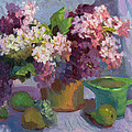 Lilacs And Pears by Diane McClary