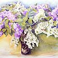 Lilacs Bouquet by Maria Varga-Hansen
