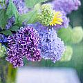 Lilacs On The Table by Rebecca Cozart