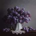 Lilacs Study No.2 by Larry Preston