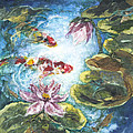 Lilies #3 by Connie Ely McClure