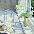 Lilies And A Straw Hat by Timothy Easton