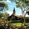 Liliuokalani Church - Haleiwa Hawaii by Craig Wood