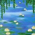 Lillies 1 by Cathy Jacobs