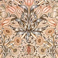Lily And Pomegranate Wallpaper Design by William Morris