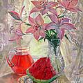 Lily With Watermelon by Galina Gladkaya