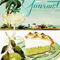 Lime Meringue Pie With Champagne by Henry Stahlhut